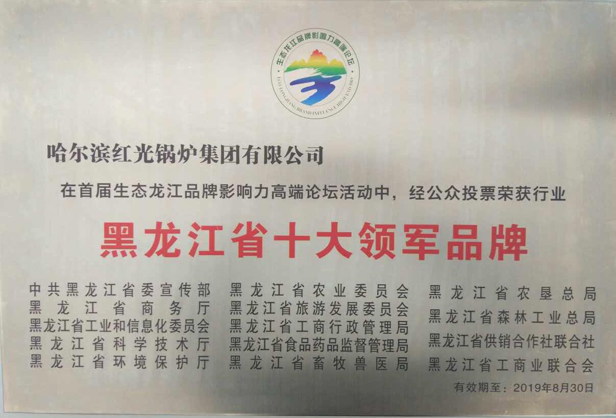 黑龙江省十大领军品牌
